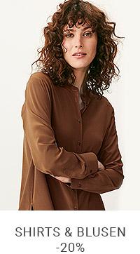 Shirts & Blusen mit -20% Rabatt*    Code: NATURE20
