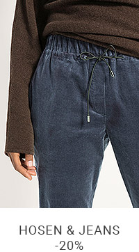 Hosen & Jeans mit -20% Rabatt*    Code: NATURE20